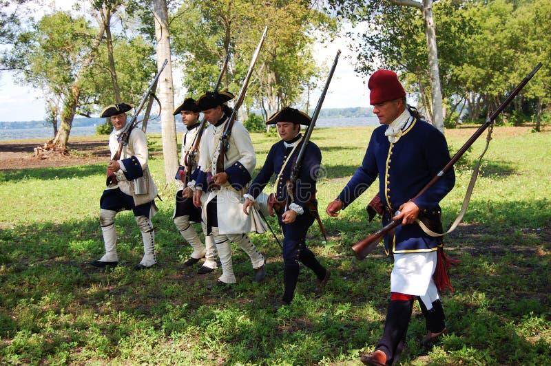 Día en Ogdensburg, Estado de Nuevo York del fundador fotos de archivo