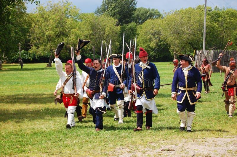 Día en Ogdensburg, Estado de Nuevo York del fundador imagenes de archivo