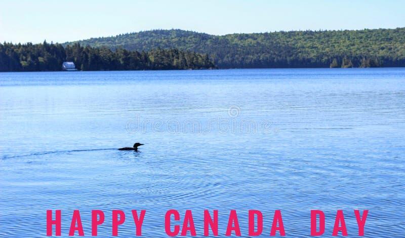Día feliz de Canadá foto de archivo