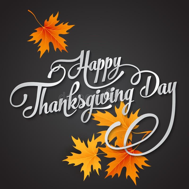 Día feliz de la acción de gracias libre illustration