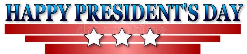 Día feliz de los presidentes imágenes de archivo libres de regalías