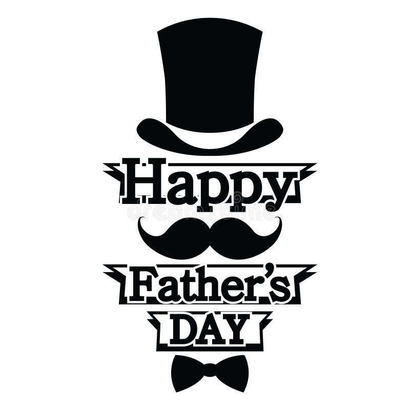 Día feliz del ` s del padre imagen de archivo