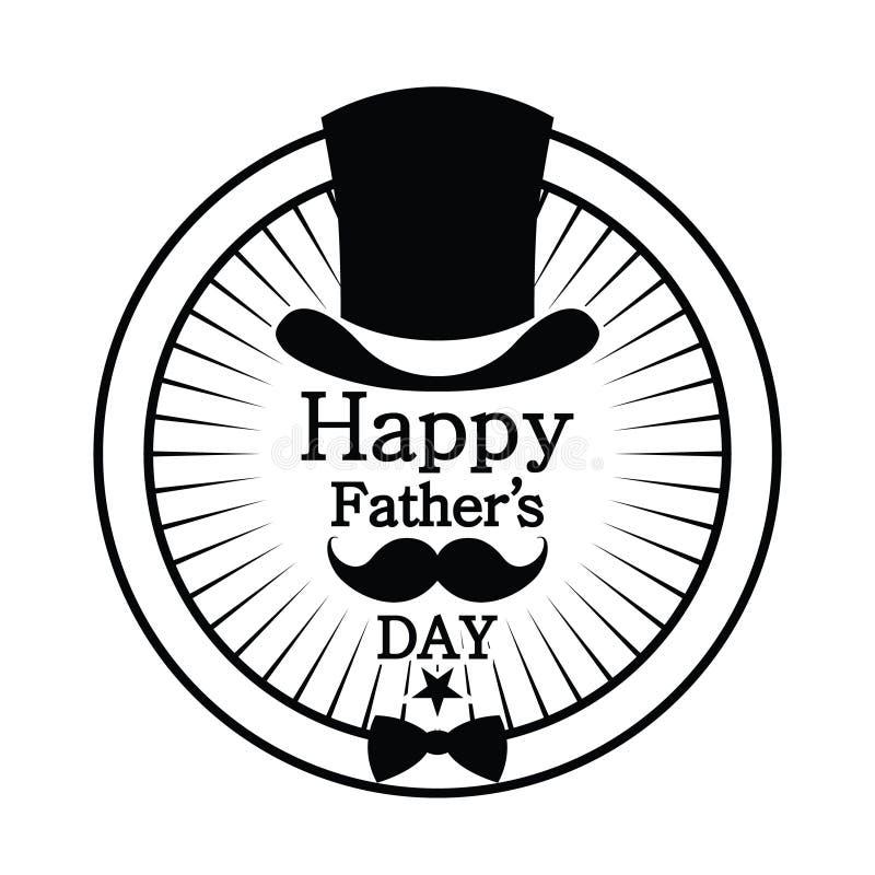 Día feliz del ` s del padre fotografía de archivo