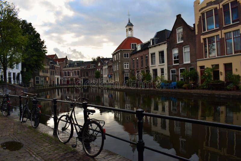 Día hermoso en Schiedam fotos de archivo libres de regalías