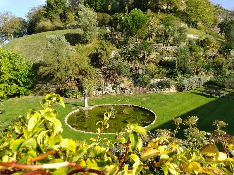 D?a hermoso Reino Unido del jard?n del castillo de Windsor, fotos de archivo libres de regalías