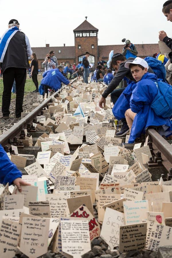 Día internacional de la conmemoración del holocausto foto de archivo libre de regalías