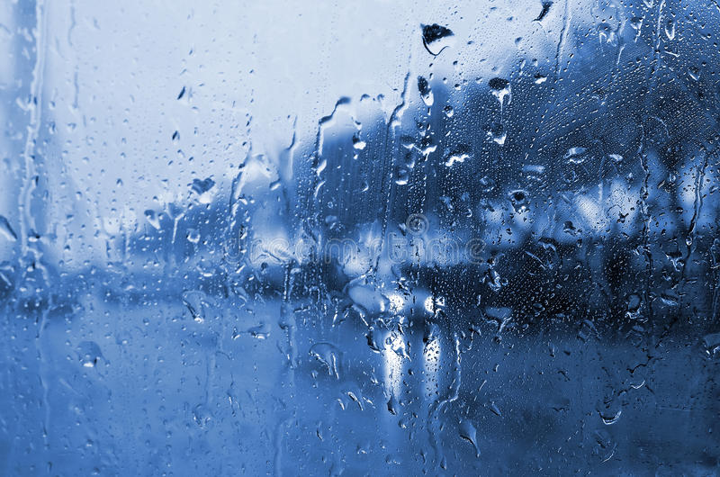 Día lluvioso foto de archivo