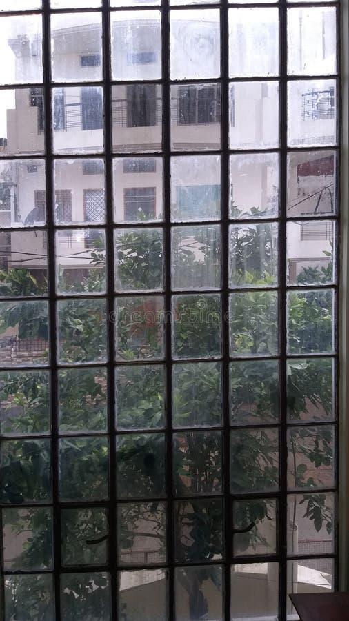 Día lluvioso en Varanasi fotografía de archivo libre de regalías