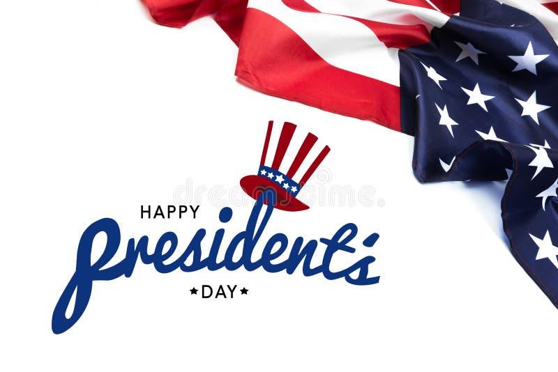 Día los E.E.U.U. - imagen de los presidentes fotografía de archivo libre de regalías