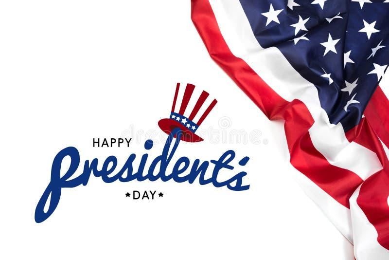 Día los E.E.U.U. - imagen de los presidentes imagenes de archivo