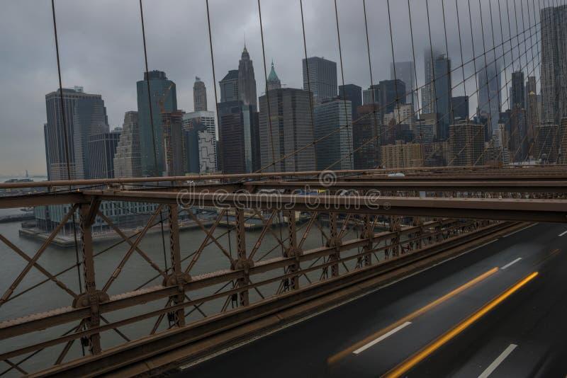 Día melancólico en NYC fotografía de archivo libre de regalías