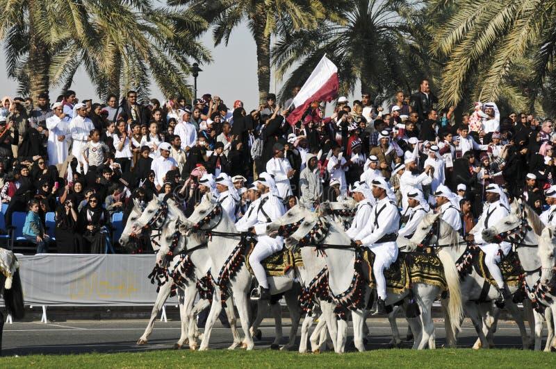Día Nacional 2010 De Qatar Imagen de archivo editorial