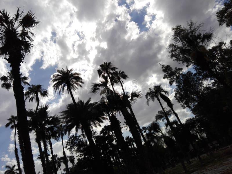 día nublado imagen de archivo