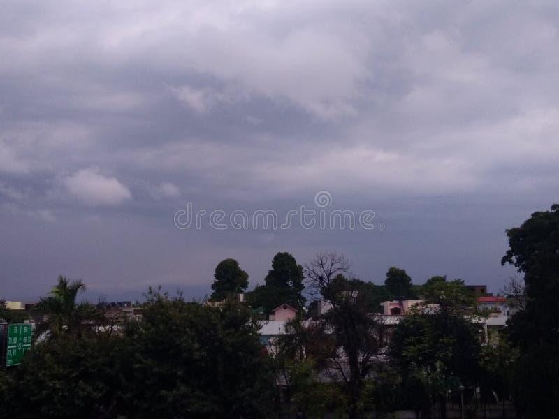 Día nublado en Punjab foto de archivo