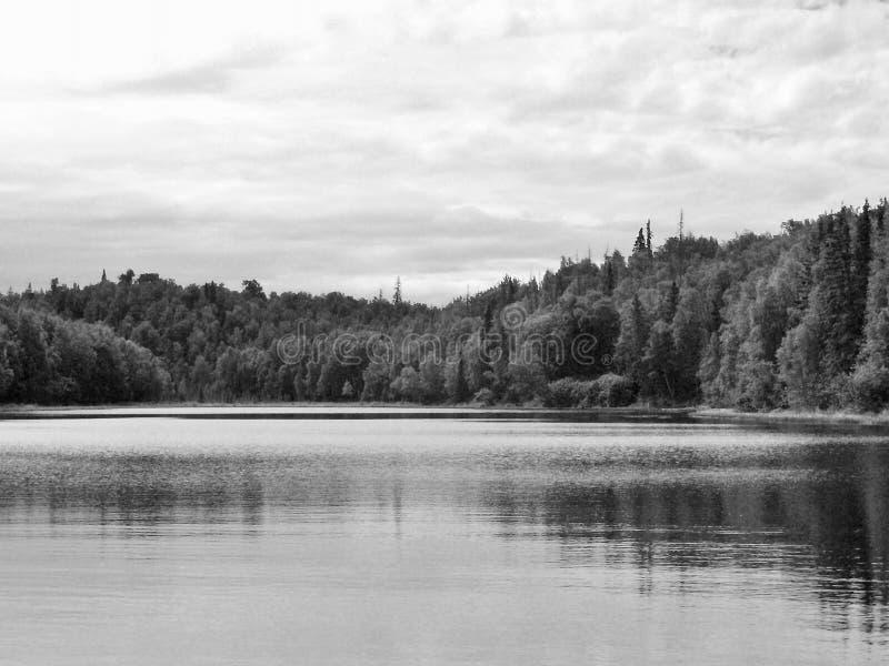 Día relajante en el lago foto de archivo