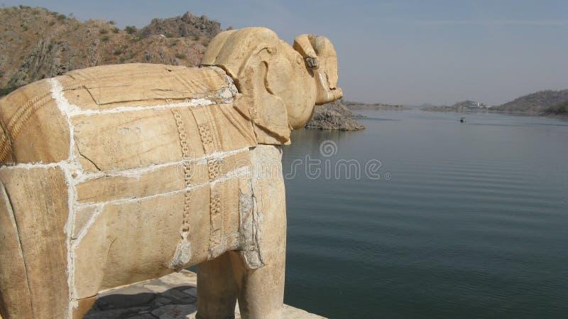 Día soleado de Elepha imagenes de archivo