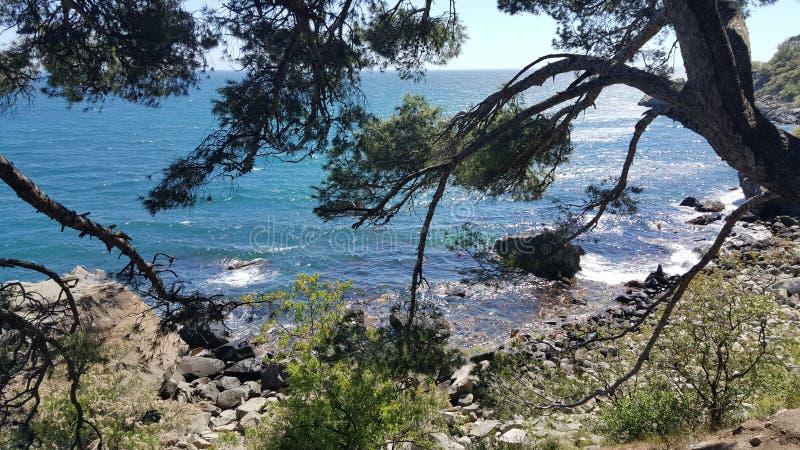 Día soleado en el mar imagen de archivo