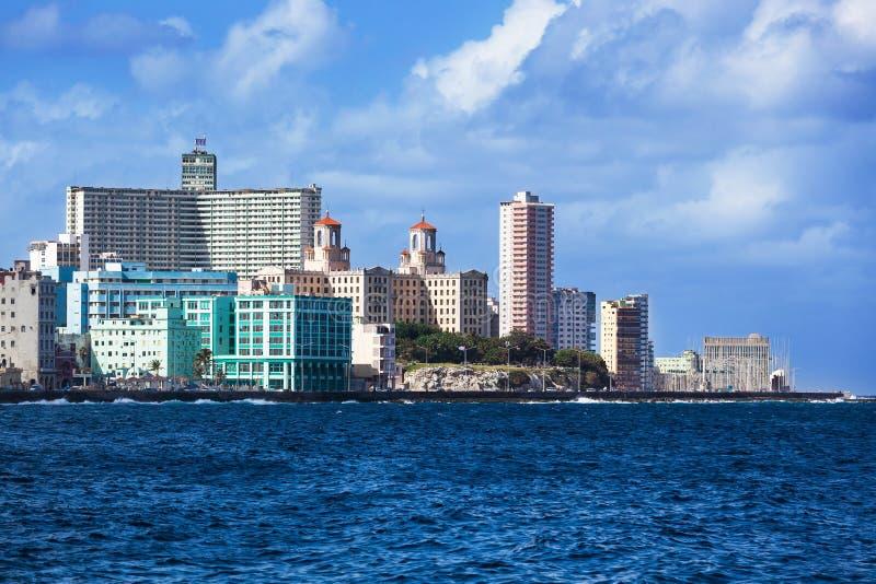 Día soleado en La Habana fotos de archivo