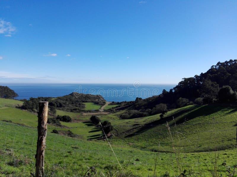 Día soleado en Perlora fotos de archivo