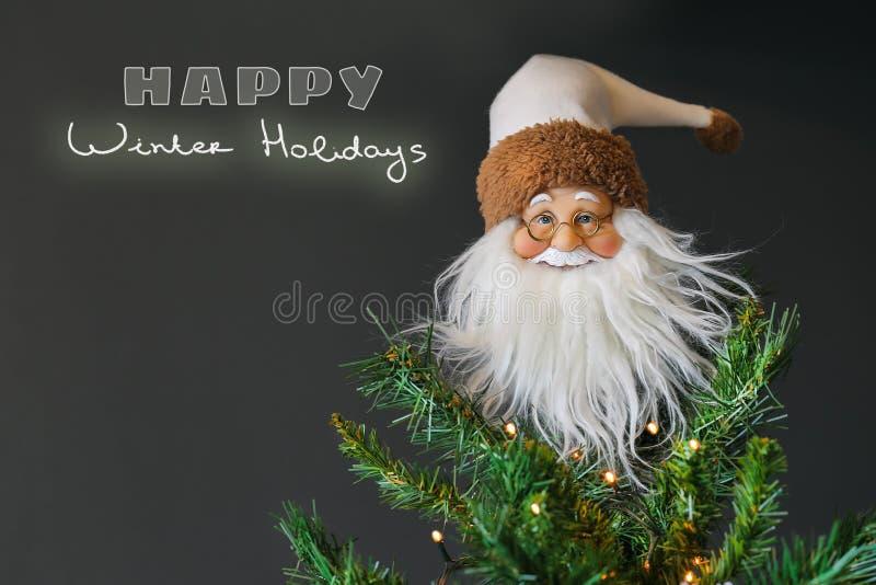Días de fiesta de invierno felices foto de archivo libre de regalías