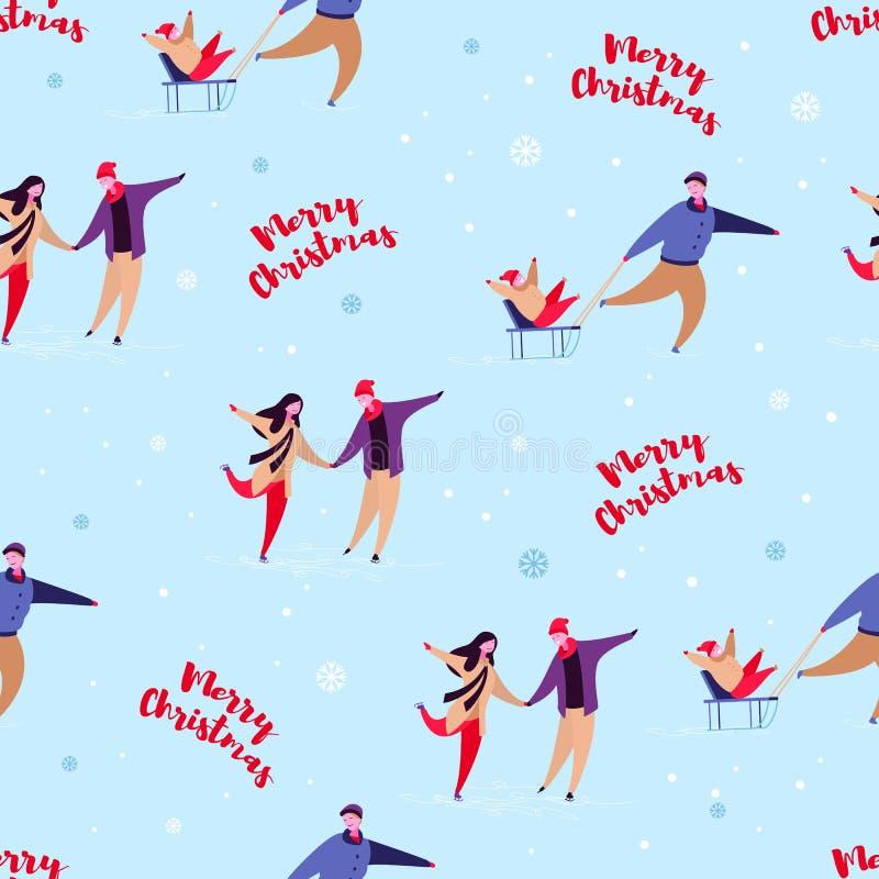 Días de fiesta set4 de la familia stock de ilustración