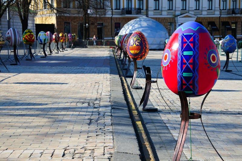 Días de Pascua en Ucrania fotografía de archivo libre de regalías