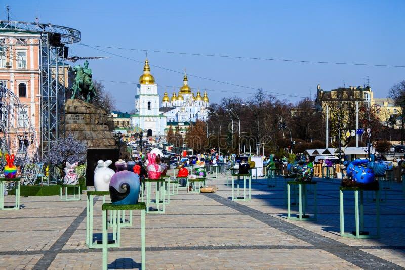 Días de Pascua en Ucrania imagen de archivo