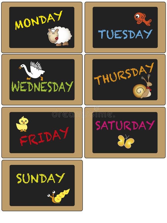 Días de semana libre illustration