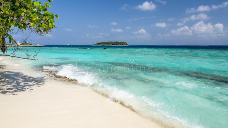 Días felices en maldivo fotos de archivo libres de regalías