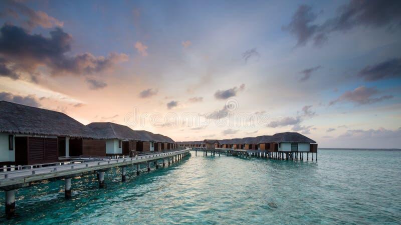 Días felices en maldivo imagen de archivo