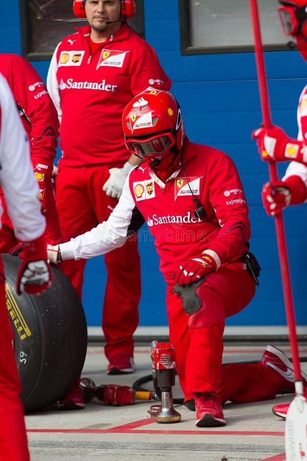 Días que compiten con de Ferrari fotografía de archivo