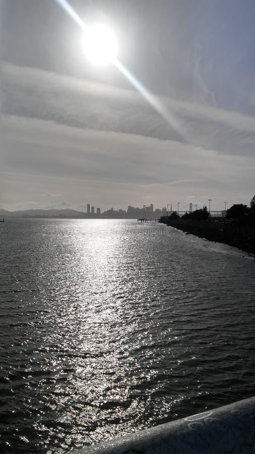 Días soleados en Oakland foto de archivo libre de regalías