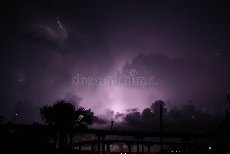 Días tempestuosos imagenes de archivo