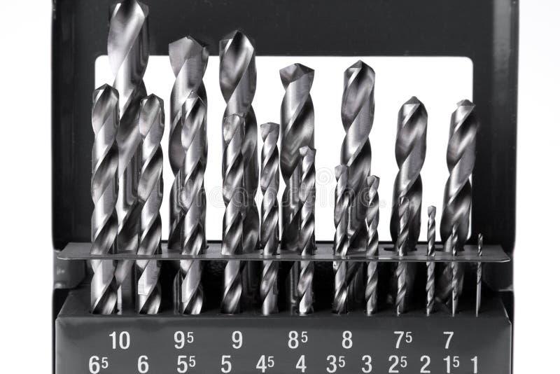 Dígitos binarios de taladro fotos de archivo