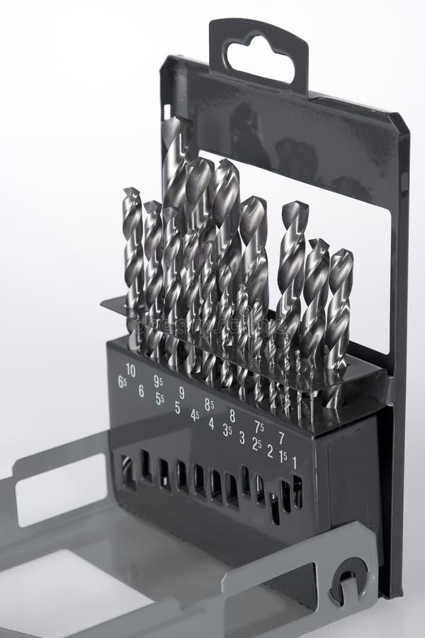 Dígitos binarios de taladro fotografía de archivo libre de regalías