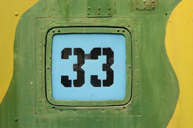 Dígitos en fondo metálico fotografía de archivo libre de regalías