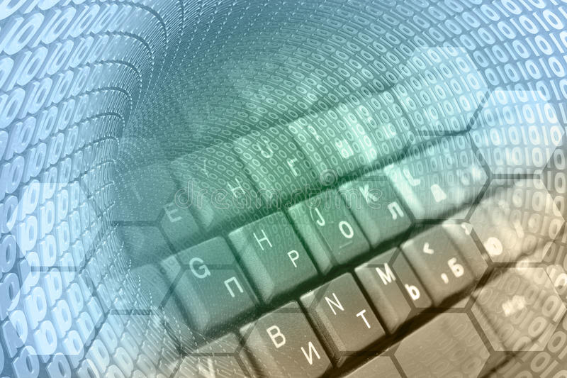Dígitos y el teclado libre illustration