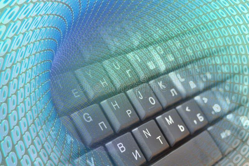 Dígitos y teclado foto de archivo libre de regalías