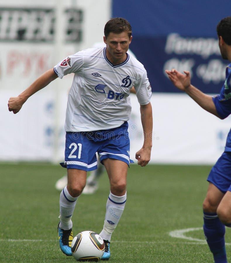 Dínamo Moscovo de FC contra o dínamo Kyiv de FC imagem de stock