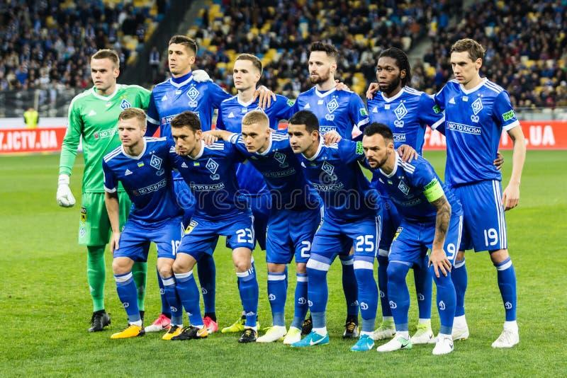 Dínamo ucraniano Kyiv - Shakhtar Donetsk, O del partido de liga primera imagenes de archivo