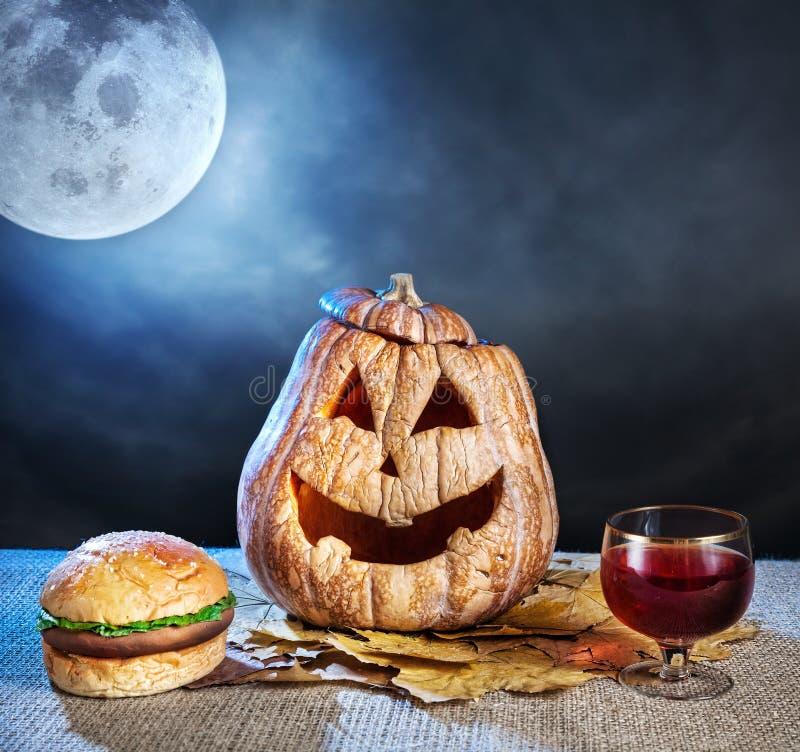 Dîner de Halloween image libre de droits