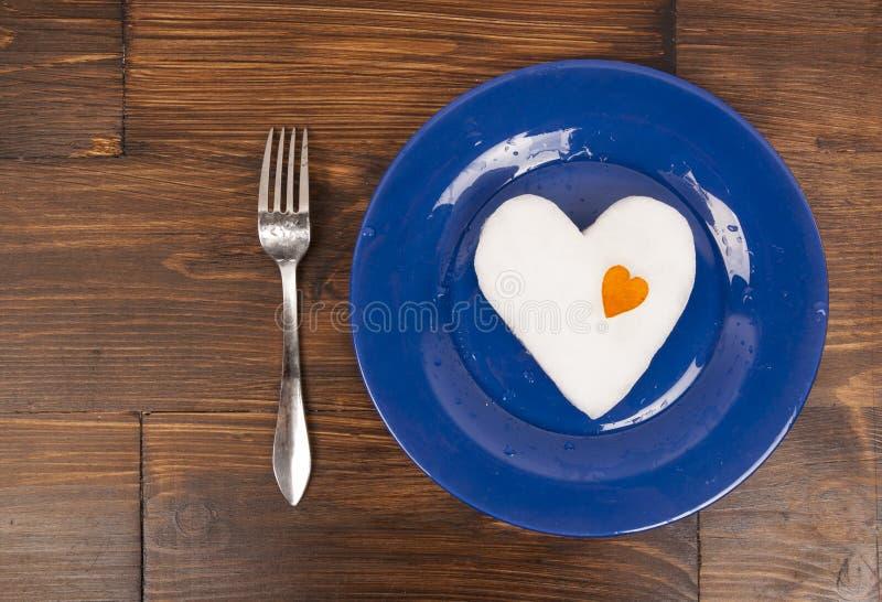 Dîner romantique pour la Saint-Valentin photos stock
