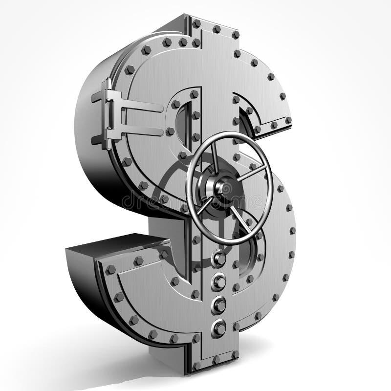 Dólar stock de ilustración