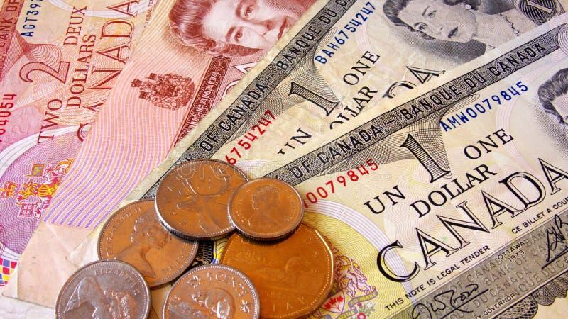 Dólar canadiano fotografia de stock royalty free