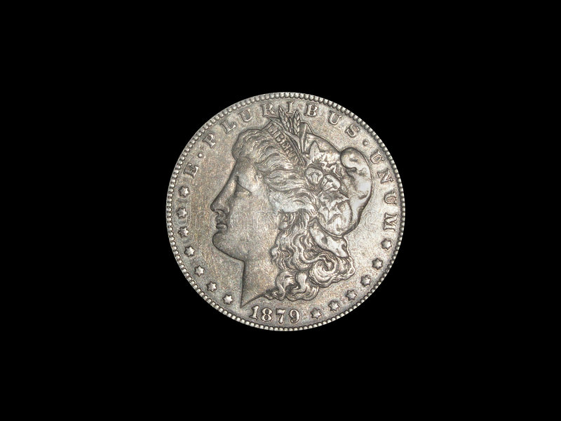 Dólar De Prata Fotos de Stock