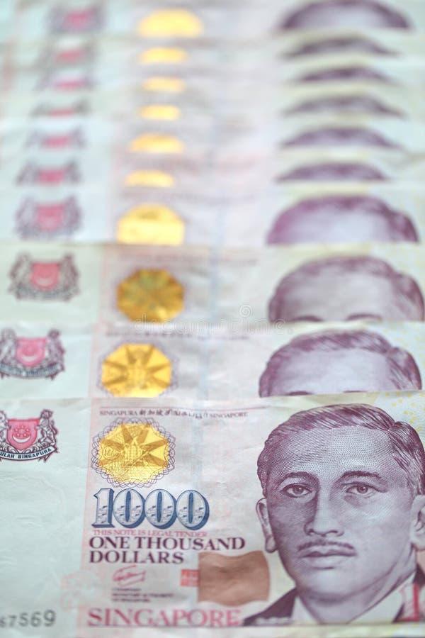 Dólar de Singapore imagens de stock royalty free
