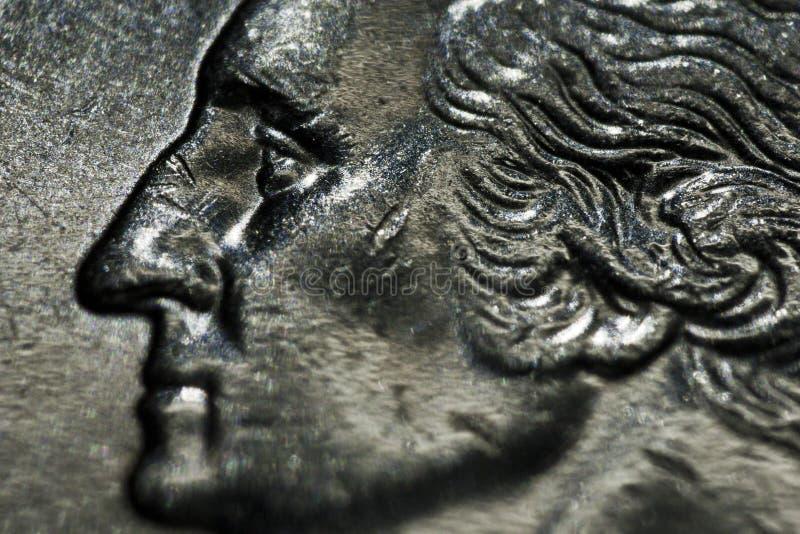 Dólar de um quarto imagem de stock