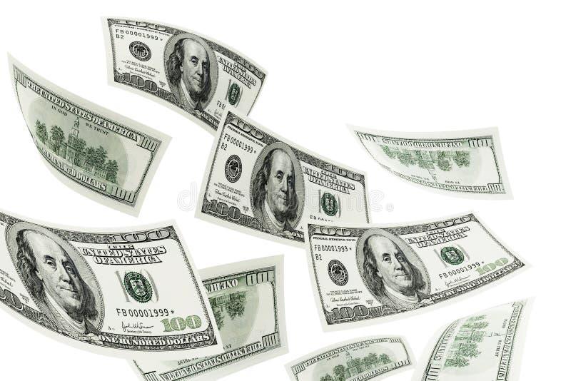 Dólar do vôo fotos de stock royalty free