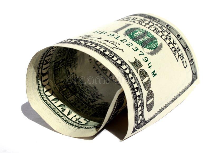 Dólar Rolado Imagem de Stock Royalty Free