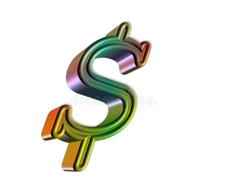 Dólares ilustración del vector